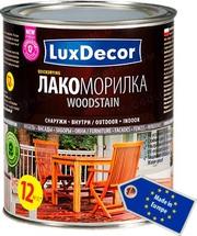 Масла,  морилки,  лазури,  лакоморилки LuxDecor (Польша) для древесины.