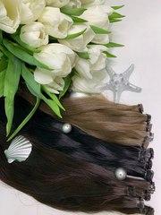 Волосы для наращивания славянские.