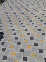 Укладка и продажа тротуарной плитки в Краснодарском крае.