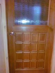 Двери из массива б/у в отличном состоянии